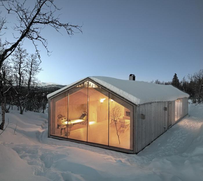 Дом в норвежском городке Ол