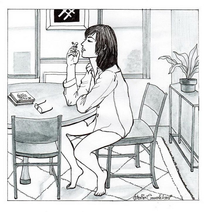 Кайф одиночества в работах Idalia Candelas