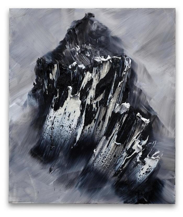 Суровые горы в картинах Conrad Jon Godly