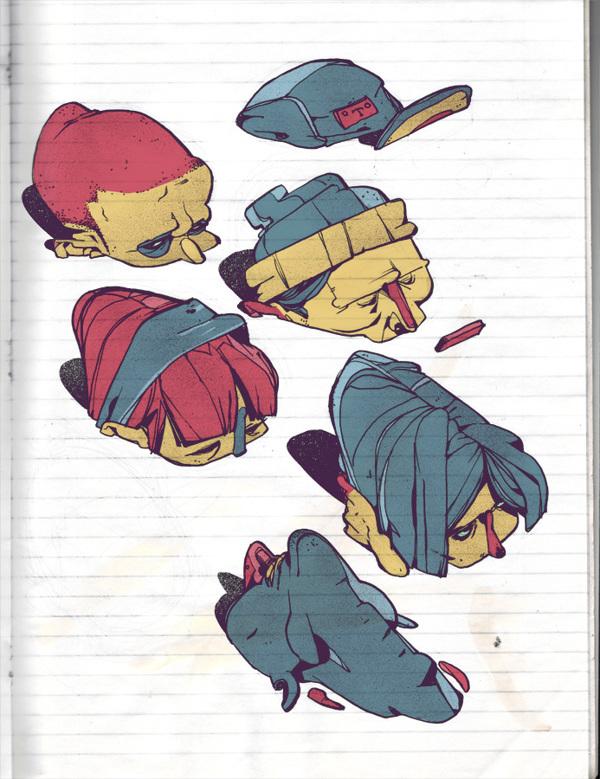 Иллюстрации T Wei