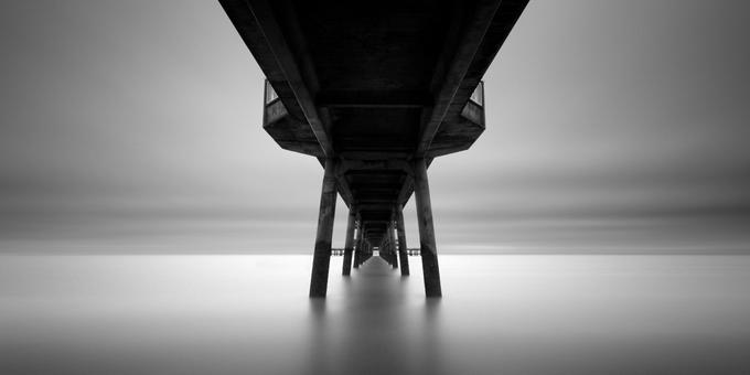 Черно-белые пейзажи Darren Moore