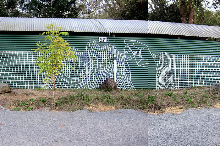 Ленточное граффити Buff Diss