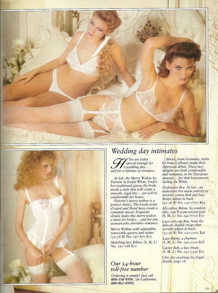 Каталог нижнего белья Victoria's Secret 1979 года