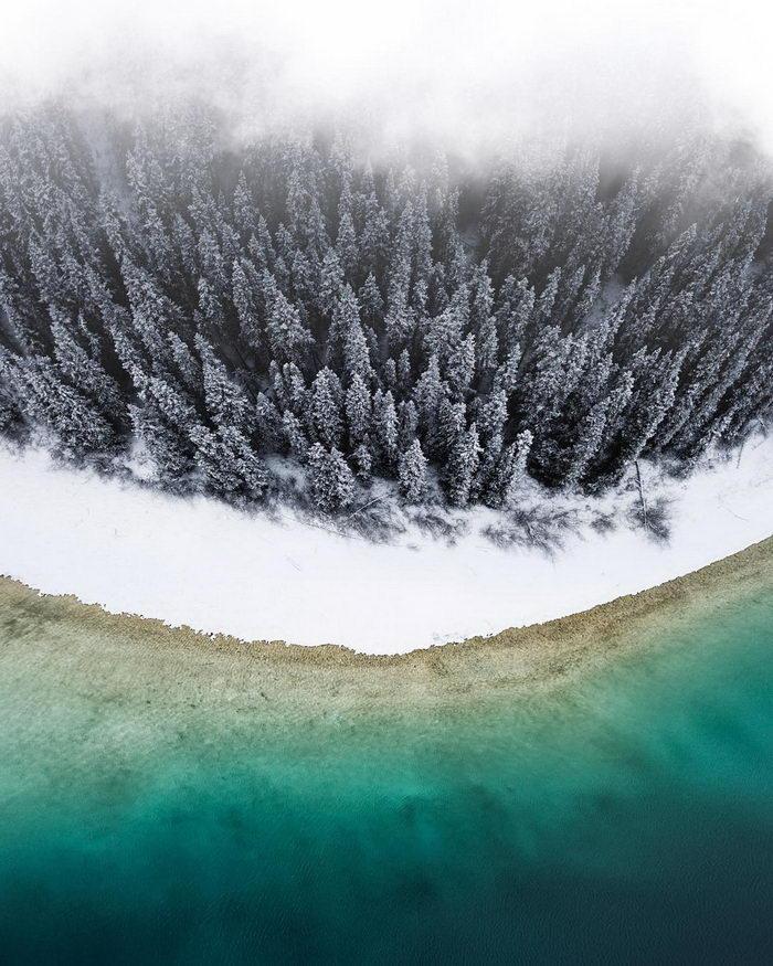 Воздушные пейзажи Benjamin Everett