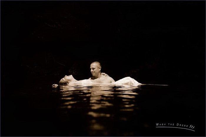 Подводные съемки влюбленных: работы Pierre Violle