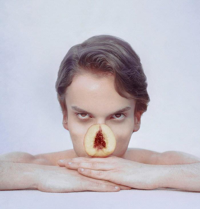Фруктовая анатомия чеовека: фотографии Marwane Pallas