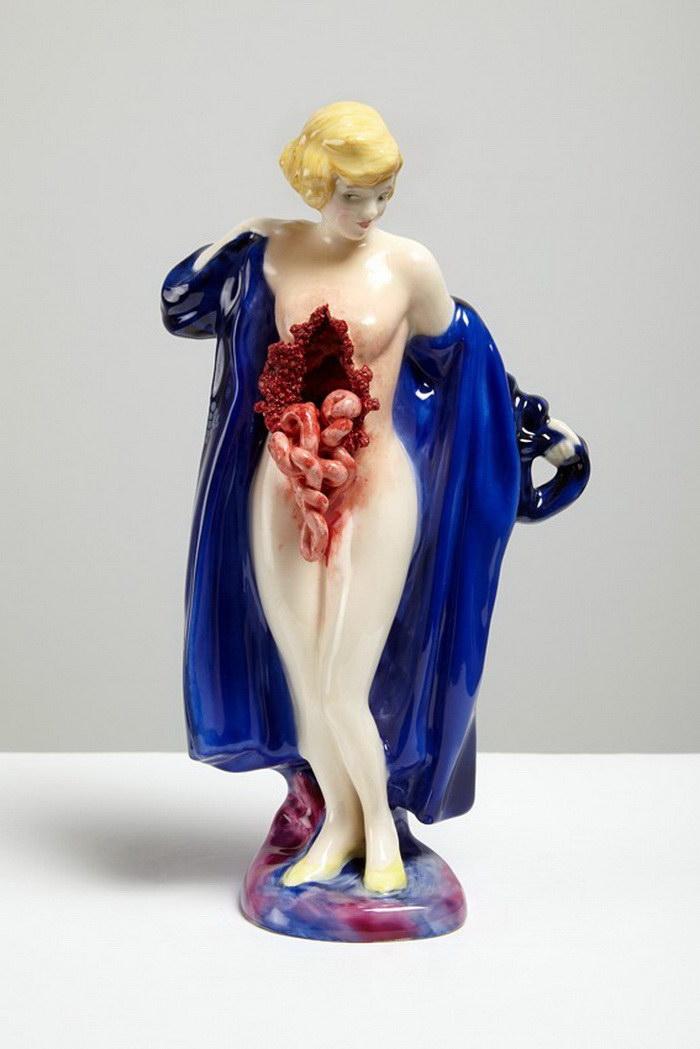 Жуткие скульптуры Jessica Harrison