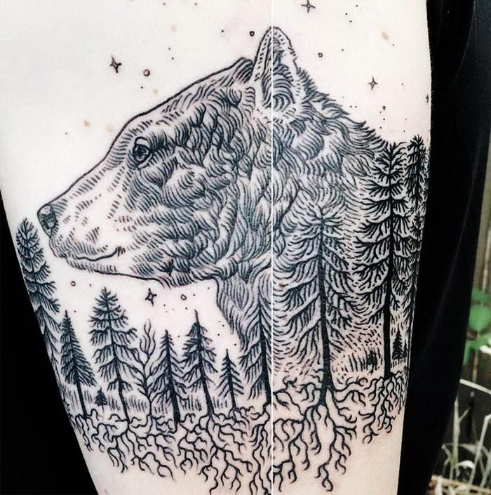 Интересные татуировки Pony Reinhardt