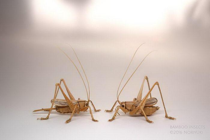 Скульптуры насекомых Noriyuki Saitoh