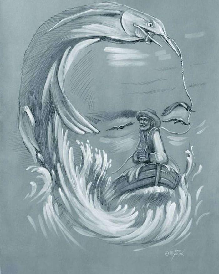Оптические иллюзии Oleg Shuplyak