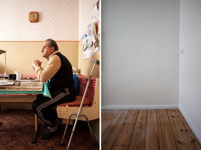 Ремонт как окончание истории квартиры: проект Christoph Schieder