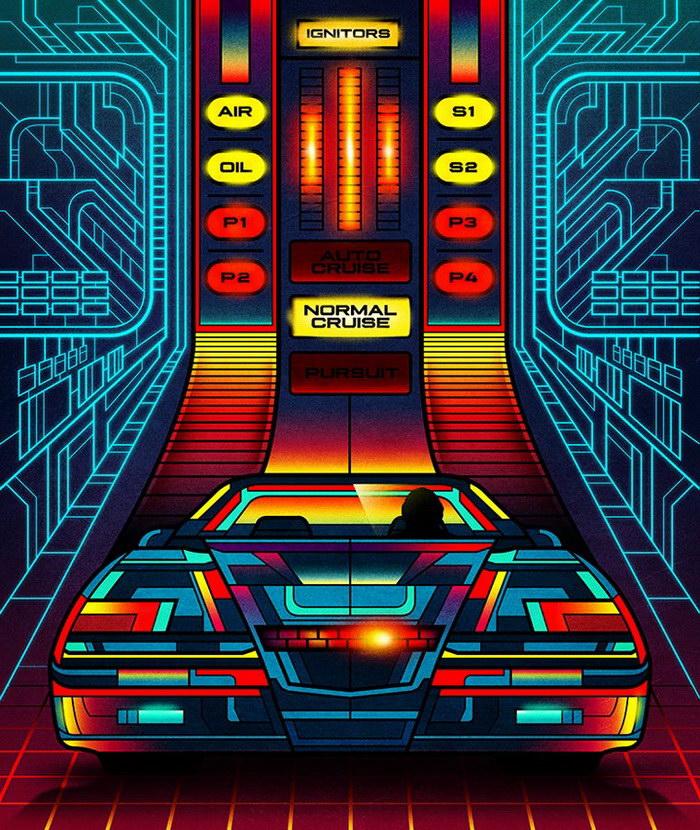 Яркие плакаты Van Orton Design