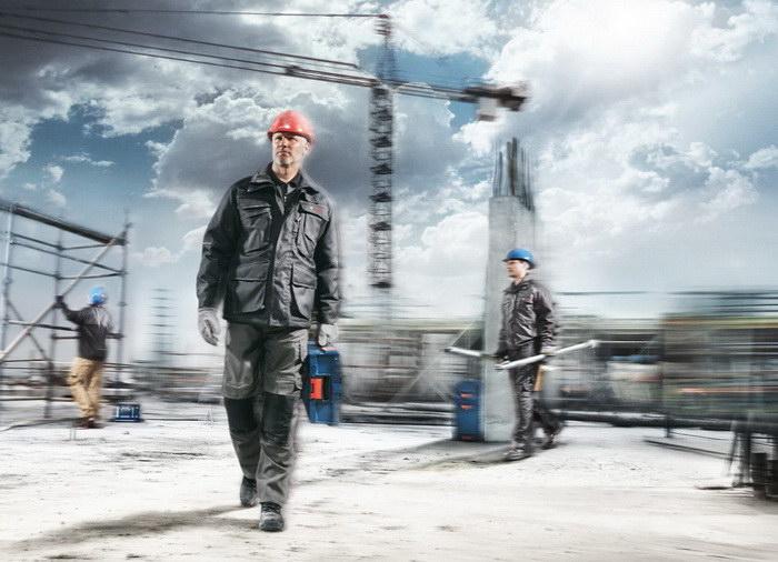 Рекламные снимки рабочих Klaus Merz