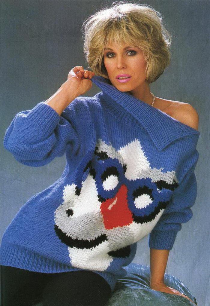 24 уродливых свитера из 1980-х годов в США