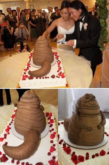 Креативные свадебные торты