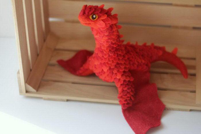 Шерстяные драконы Alena Bobrova