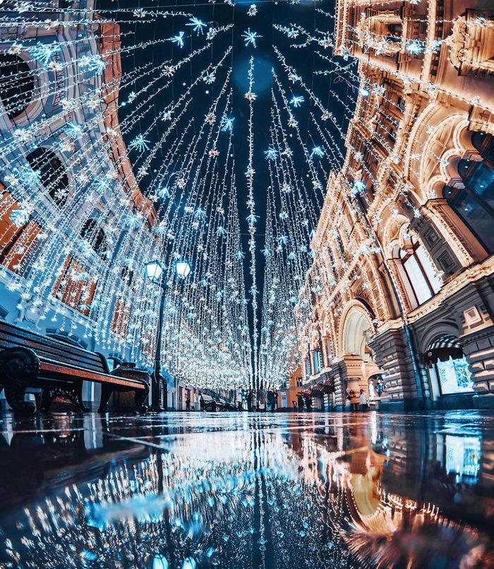 Новогодняя Москва в снимках Кристины Макеевой
