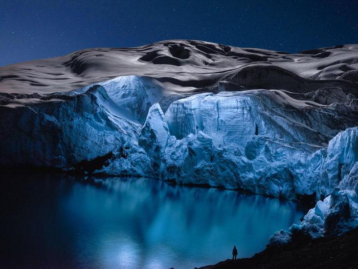 Перуанский ледник в фотографиях Reuben Wu