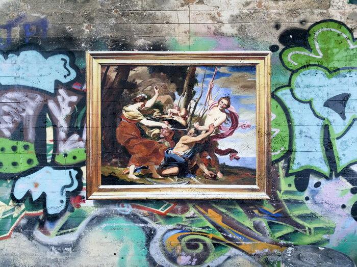 Необычные граффити Julio Anaya Cabanding