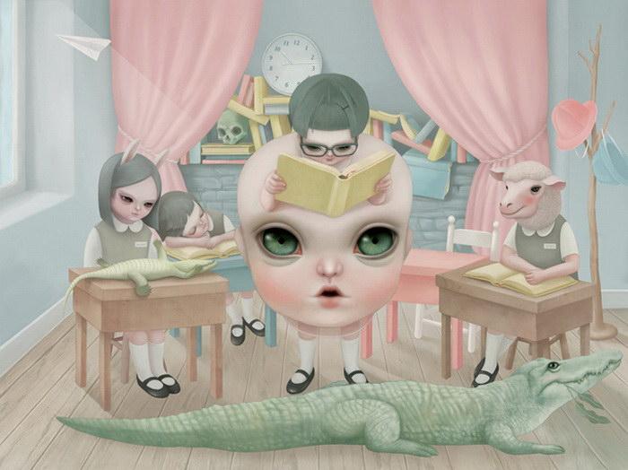 Нежные иллюстрации Hsiao Ron Cheng