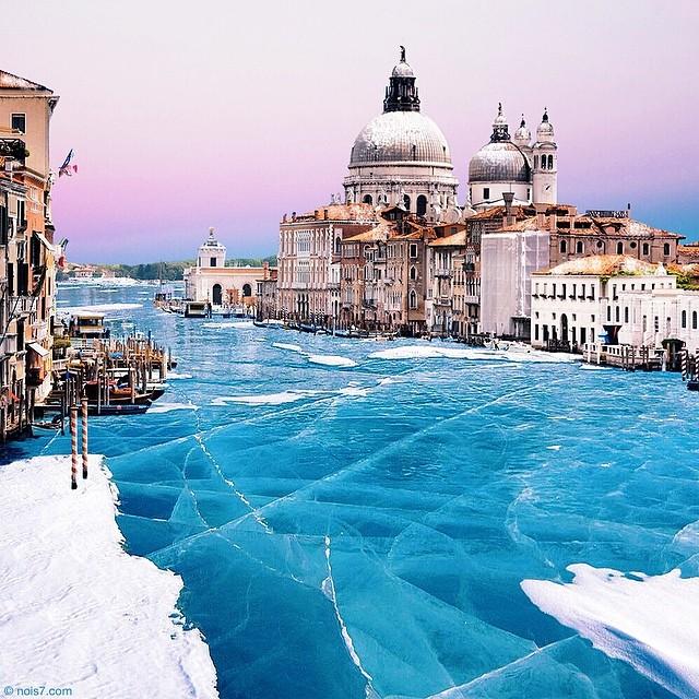 Замерзшая Венеция