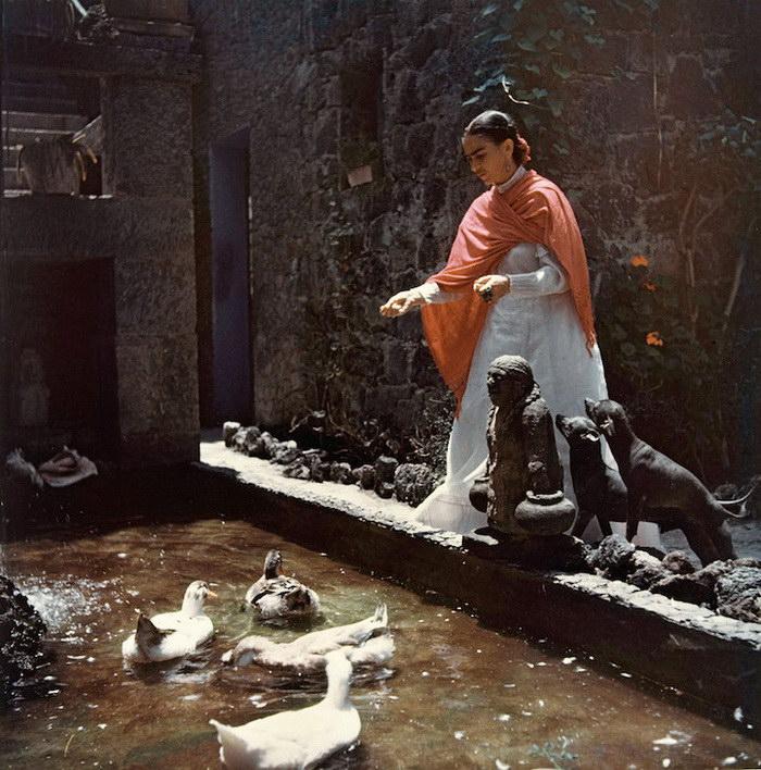 Редкие фото Фриды Кало в последние годы ее жизни