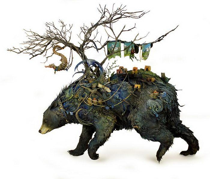 Скульптуры животных Ellen Jewett