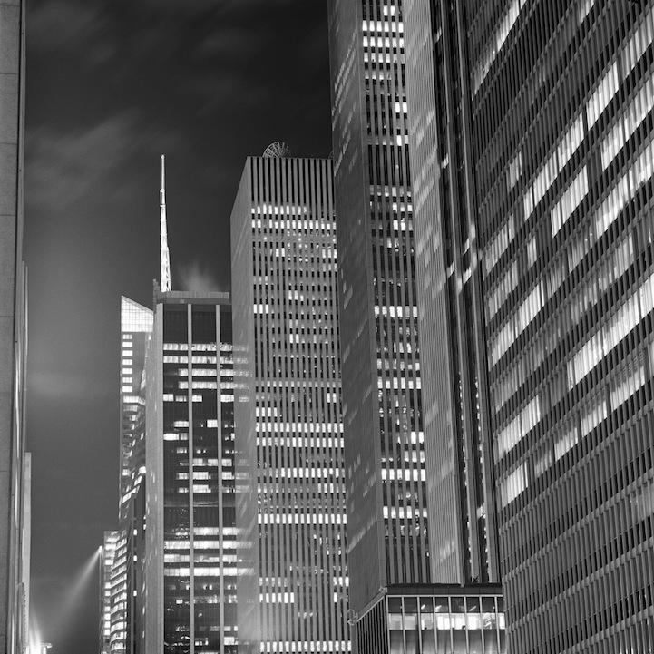 Черно-белый Нью-Йорк