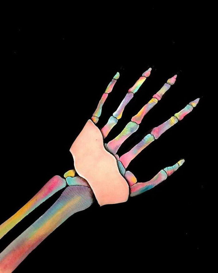 Оптические иллюзии Lisha Simpson