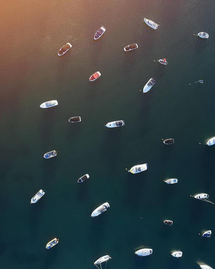 Фотографии с высоты птичьего полета Gabriel Scanu