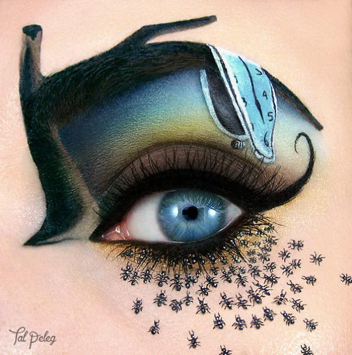 Невероятный макияж глаз Tal Peleg