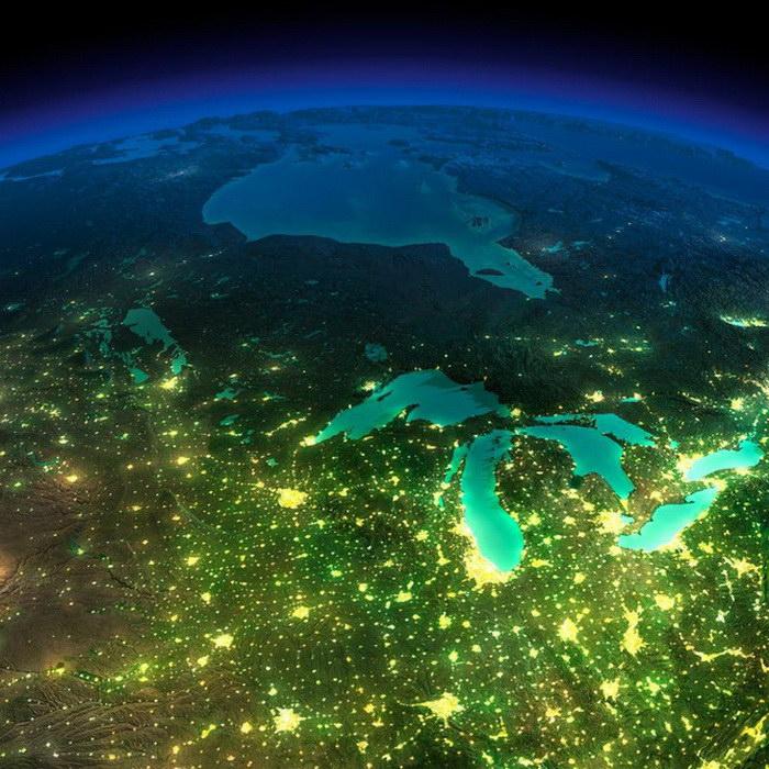 Агентство NASA представило новые невероятные фотографии Земли