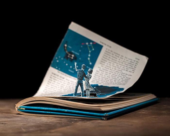 Книжные диорамы Thomas Allen