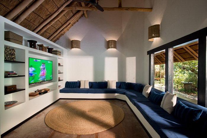 Уютный отель на берегу моря в Мозамбике