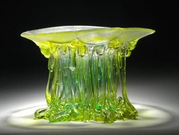 Стеклянные медузы Daniela Forti