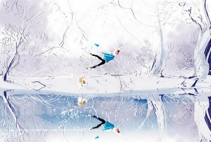 Душевные иллюстрации Pascal Campion