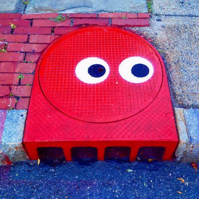 Забавные граффити Tom Bob