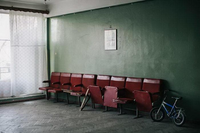 Заброшенный пансионат в Цхалтубо