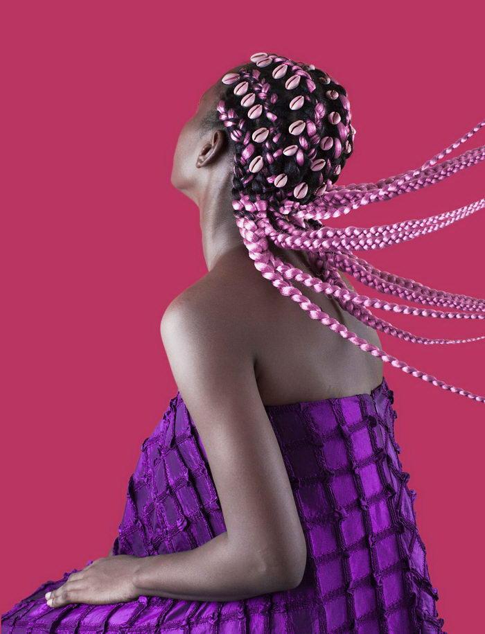 Невероятные прически нигерийских женщин: фото Medina Dugger