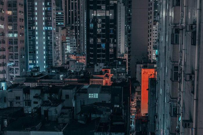 Полуночный Гонконг в фотографиях David Sherman