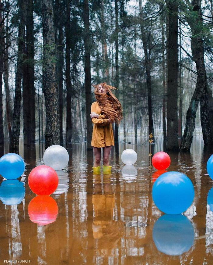 Интересные фотоколлажи Platon Yurich