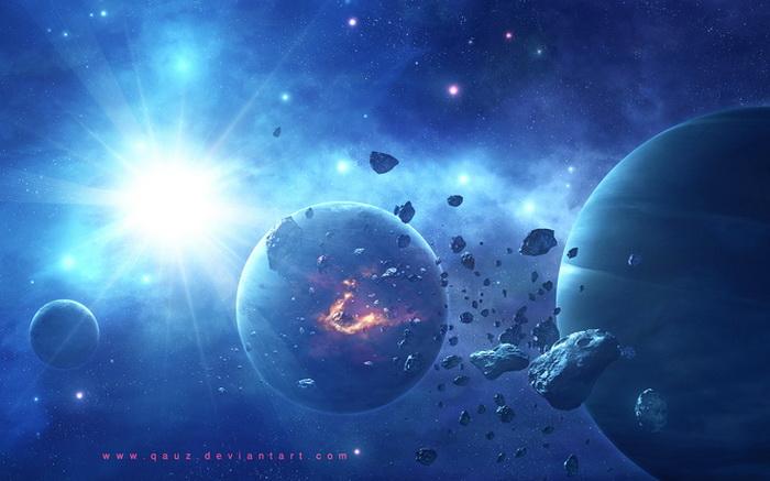 Фото обои рабочего стола космос
