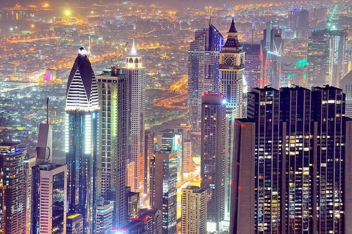 Ультрасовременный Дубай в фотографиях Александра Братухина