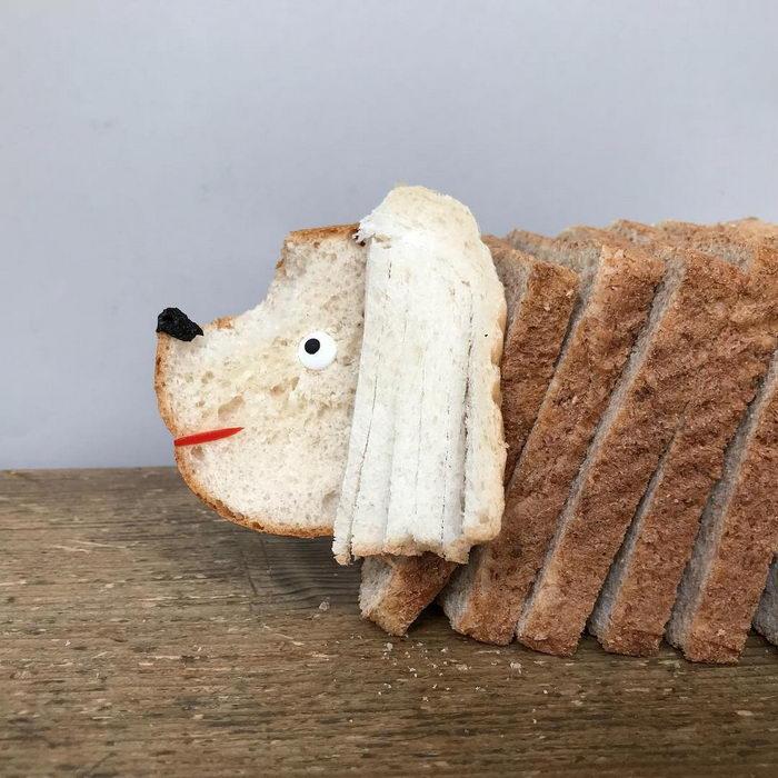 Хлебные рожицы Sabine Timm