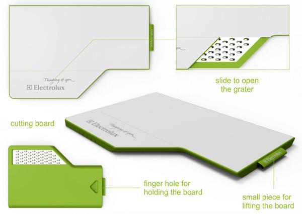 Ноутбук для кулинара: Electrolux Mobile Kitchen Concept