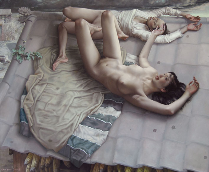Подборка картин Lui Liu