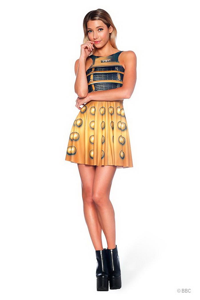 Коллекция купальников Doctor Who x Black Milk