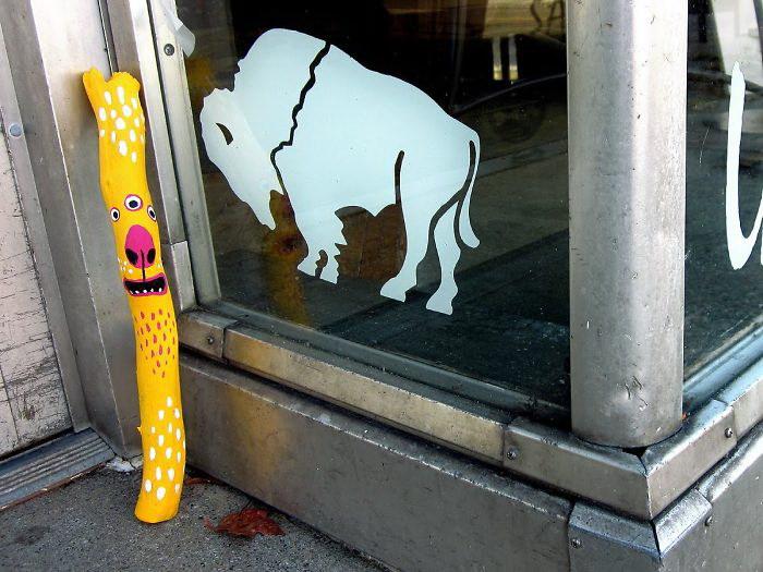 Стрит-арт в работах 10-летней девочки, вдохновленной Banksy