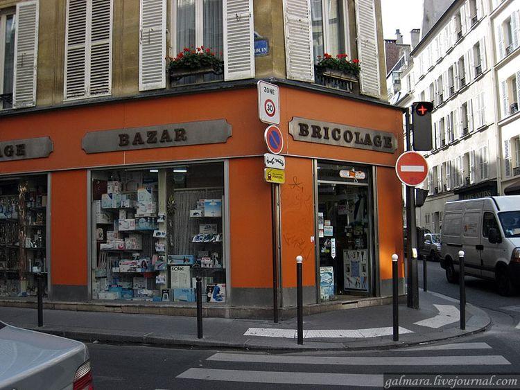 Магазины в Париже