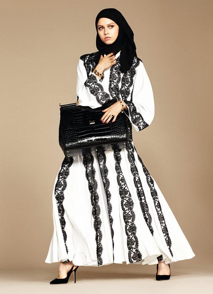 Первая мусульманская коллекция одежды Dolce & Gabbana